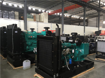 cummins engine genset
